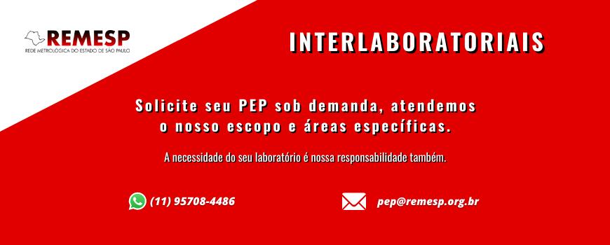 PEP'S INTERLABORATORIAIS