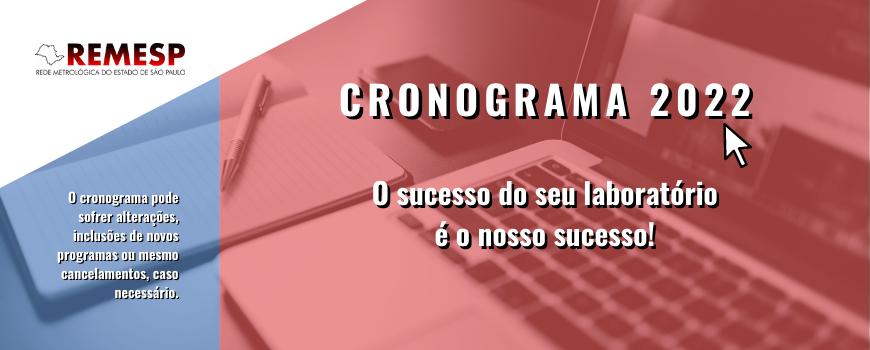 CRONOGRAMA 2022